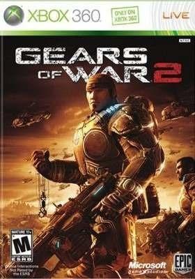 Jogo Gears Of War 2 Xbox 360 Ntsc Midia Fisica Original