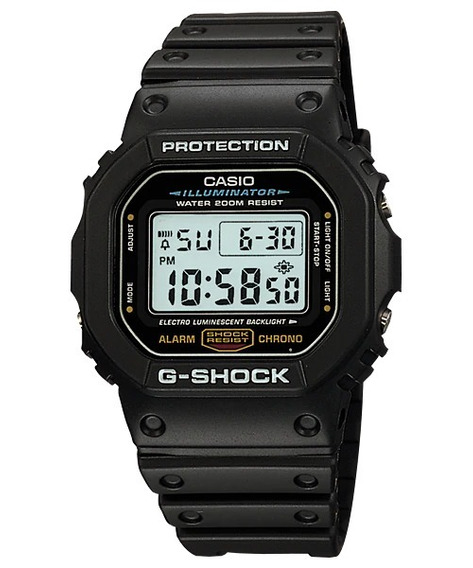 Promoção Relógio Casio G-shock Dw-5600e-1vde Original