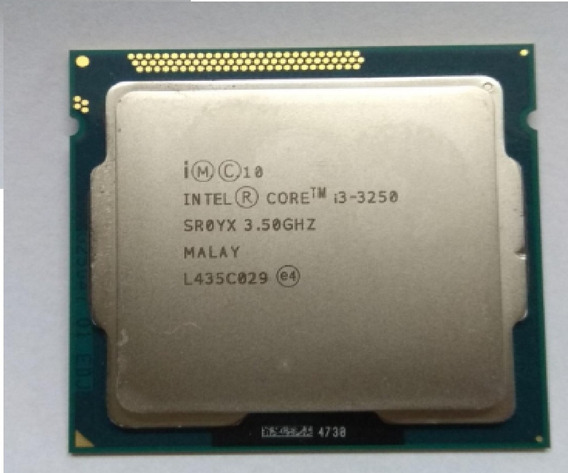 Intel I3 3250 - 3,50ghz - 3mb - 1155 - 2/4 - Perfeito