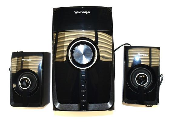 Bocina Bluetooth Spb-300 Vorago Subwoofer Microsd/usb/radio