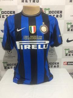 Camisa Inter De Milao Final Champions League 2010 Zanetti 4