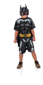 Fantasia Batman Infantil Com Mascara Liga Da Justiça