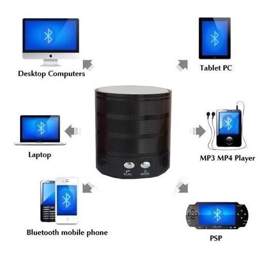 Caixa De Som Bluetooth+atende Celular Ws887(todos Bluetooth)