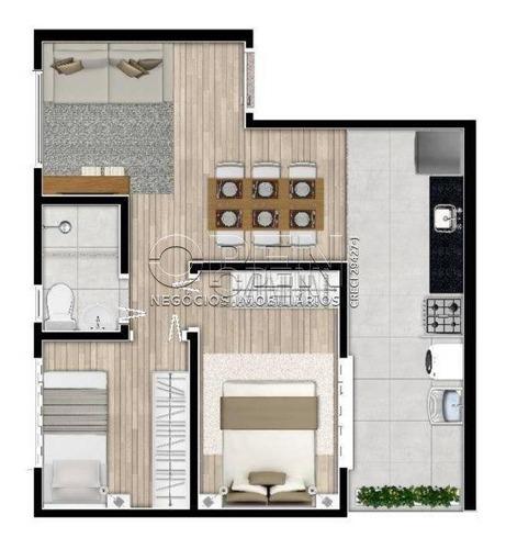 Apartamento Com 2 Dormitórios À Venda, 40 M² Por R$ 255.000,00 - Vila Pires - Santo André/sp - Ap2233