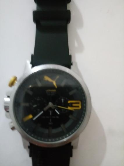 Relógio Puma Steel 805 Usado Em Perfeito Estado