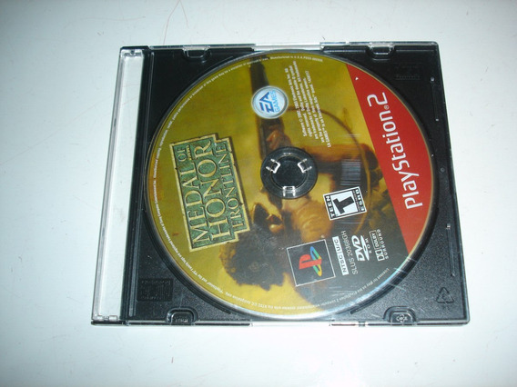 Medal Of Honor Frontline Original Ps2 Só Disco Red Label