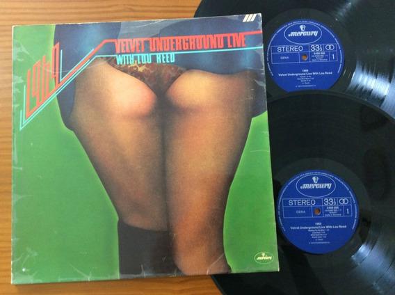 Lp Duplo Velvet Underground 1969 Live 1974 Lou Reed Alemanha