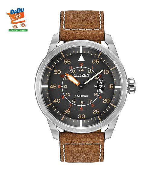 Reloj Citizen Hombre - Eco Drive - Cuero - Original - Nuevo