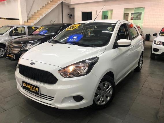 Ford Ka 1.0 Se Plus Tivct Flex 5p 2018 Impecável