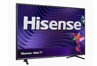 Hisense 43 Smart Tv 4k Televisor Con Sistema Roku Pantalla