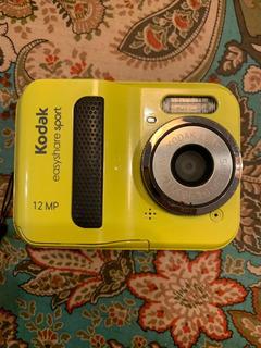 Cámara De Agua Kodak Sumergible Easy Share