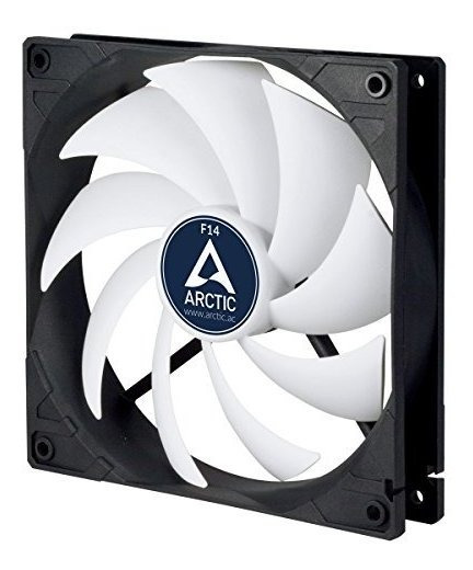 Ventilador Arctic F14-140 Mm Standard Case Fan, Ultra Low No