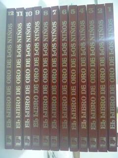 El Libro De Oro De Los Niños. 12 Ts En Buen Estado. Completa