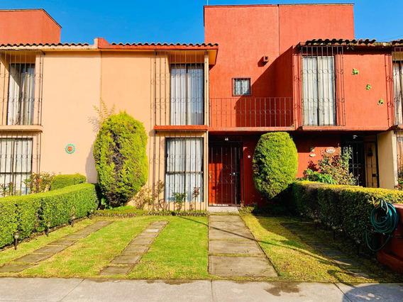 Bonita Casa En Fraccionamiento El Olimpo Toluca, Edo. Mex.