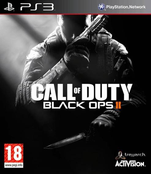 Call Of Duty Black Ops 2 - Ps3 Original ( Jogue On E Off )