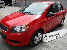 Chevrolet Aveo 2015 Std Clima Cd Mp3 Tela $105,000