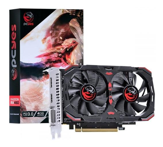Placa De Vídeo Amd Radeon Rx 460 Dual-fan 4gb Gddr5 Pcyes
