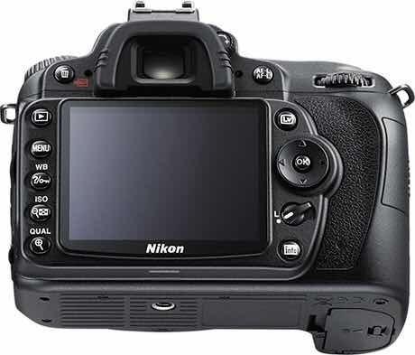 Câmera Fotográfica Dslr, Marca Nikon, Modelo D90, Com Grip