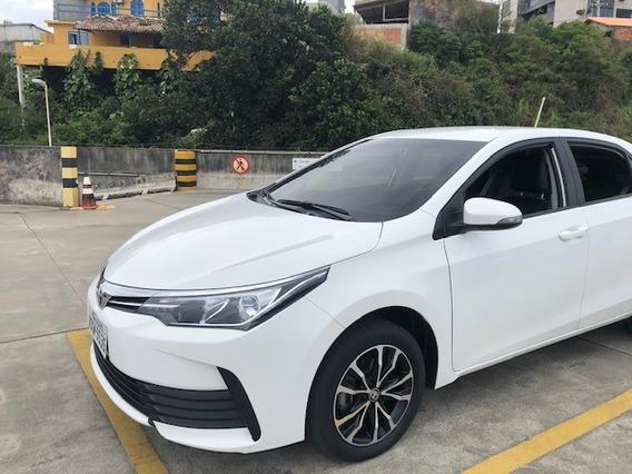 Toyota Corolla Gli 2018 32.000 Km Multimída + Câmera De Ré