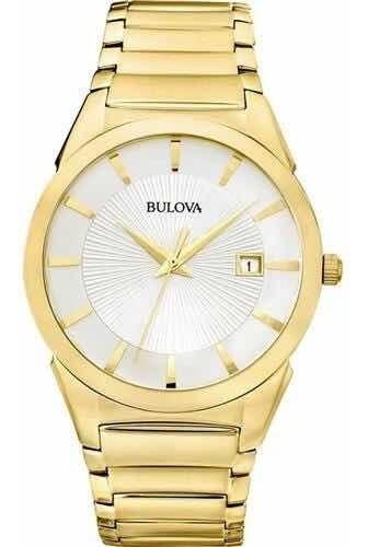 Relógio Bulova Original Com Caixa E Manual