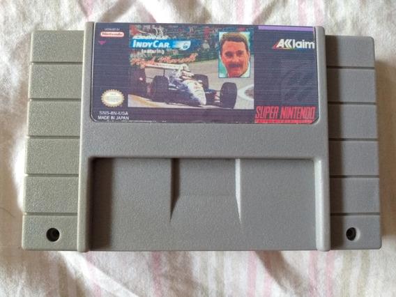 Cartucho Snes Newman Haas Indycar Featuring Nigel Mansell