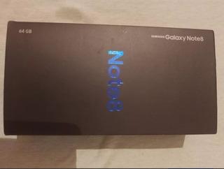 Caja De Samsung Galaxy Note 8 (vacia)