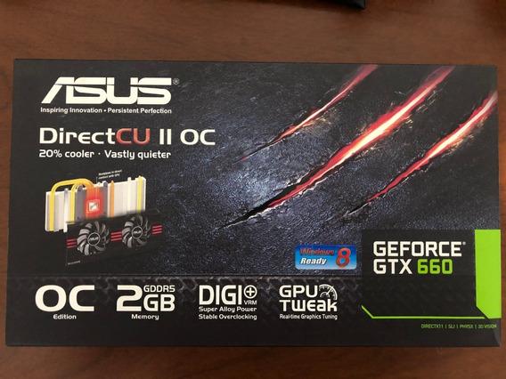 Placa De Video Asus Geforce Gtx 660 2gb Gddr5