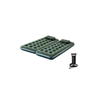 Colchon Inflable 1 Plaza X 2 Unid + 2 Almohadas + Inflador
