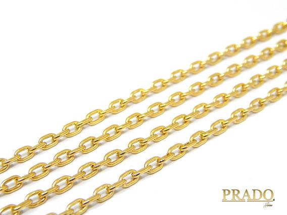 Corrente Cordão Cartier Em Ouro 18k 70cm Com Nota Fiscal