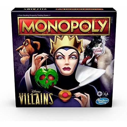 Monopoly: Disney Villains Edition Juego De Mesa Para Niños