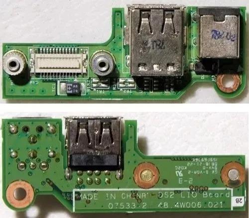 Placa Filha Entrada De Energia Dell 1525 Mod: 48 4w006 021