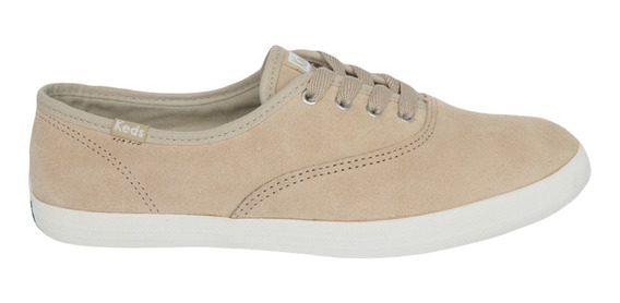 Tênis Keds Champion Suede Bege
