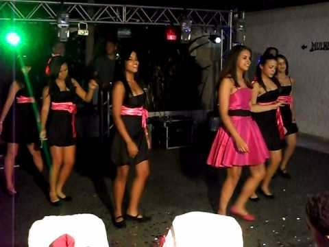 Lote Com 14 Vestidos De Acompanhantes De Debutante Cor Preta