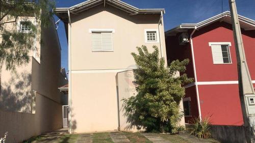 Casa Com 3 Quartos À Venda, 120 M² Por R$ 400.000 - Condominio Residencial Flamboyant - Indaiatuba/sp - Ca9111