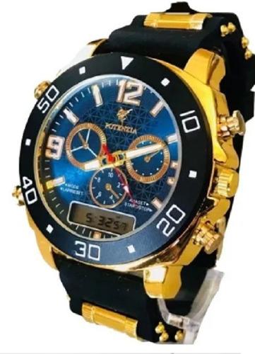 Relógio Masculino Esportivo Militar Digital Exclusivo Luxo
