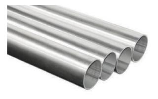 Tubo Redondo 1 Pulgada De Aluminio (6,10m)