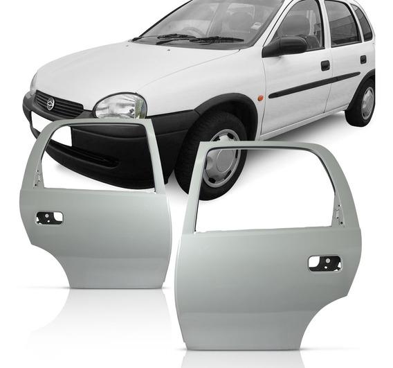 Par Porta Traseira Corsa 94 A 98 99 2000 2001 2002 4 Portas