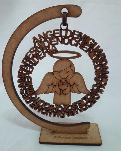 Angel De La Guarda 15cm, Recuerdo, Bautizo, Primera Comunion