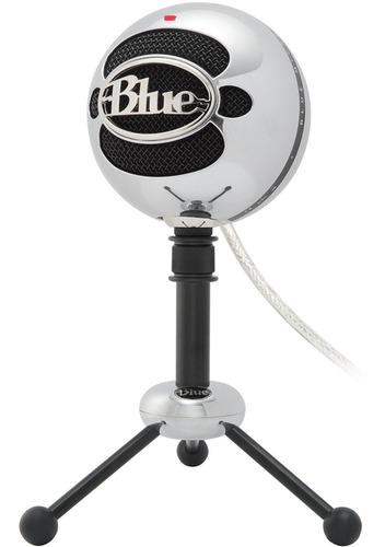 Blue Snowball Micrófono De Escritorio Usb Con Soporte