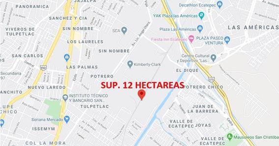 Terreno Ind Con Espuela Av. Lic Angel Otero, Ecatepec 12 Has