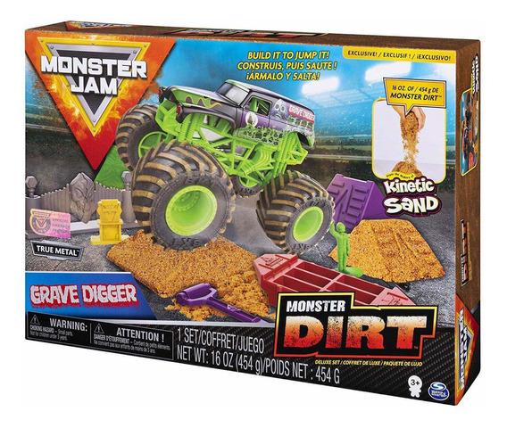 Monster Jam - Grave Digger - Monster Dirt - Arena Kinetica