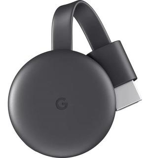 Google Chromecast 3 Smart Tv Box Original Netflix + Adapt Lh