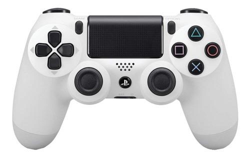 Joystick inalámbrico Sony PlayStation Dualshock 4 glacier white