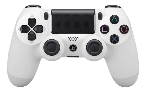 Controle joystick Sony Dualshock 4 glacier white
