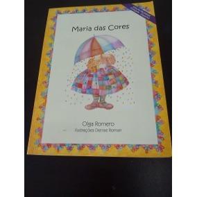 Livro Maria Das Cores - Edição Bilíngue (português-espanhol)