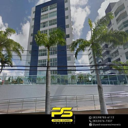 Apartamento Com 3 Dormitórios À Venda, 74 M² Por R$ 480.000 - Jardim Oceania - João Pessoa/pb - Ap3493