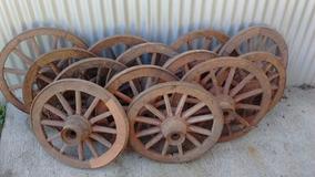 Roda De Carroça Antiga De 60cm ! Venda Por Unidade!!!!