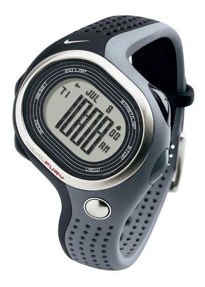 Relógio De Pulso Nike Triax Fury 100 Regular - Preto/cinza