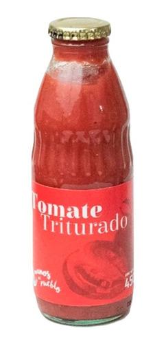 Imagen 1 de 9 de Tomate Triturado 450 Grs. Manos Del Pueblo. Mendoza