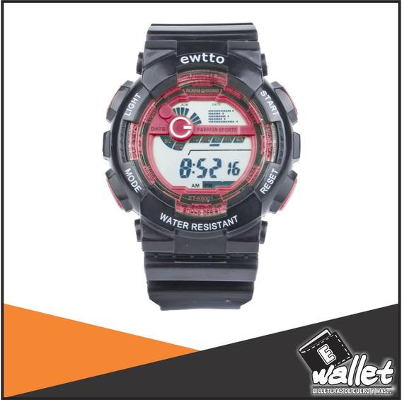 Ewtto - Reloj Digital C/ Alarma/cronometro - E Wallet Lima